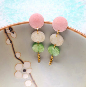 Hanami Dango Earrings by Gory Dorky