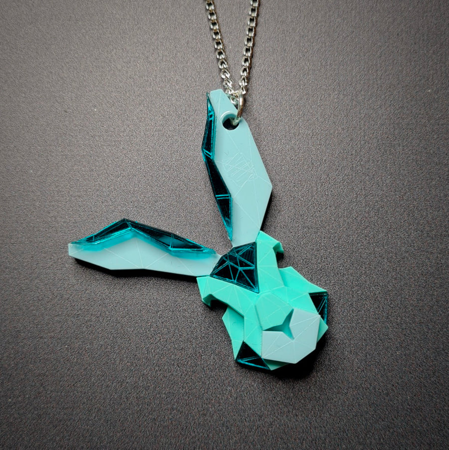 Bunny Necklace (Aqua Kingdom) by Sstutter