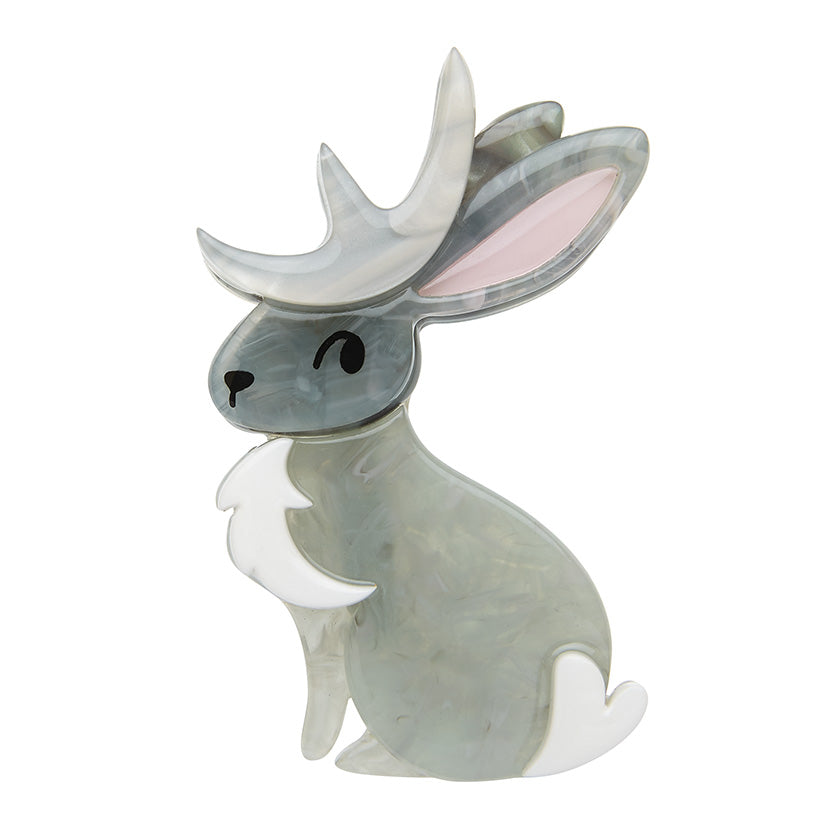 Stagbunny Brooch by Erstwilder