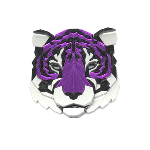 Tiger Head Brooch (Alita) by Sstutter
