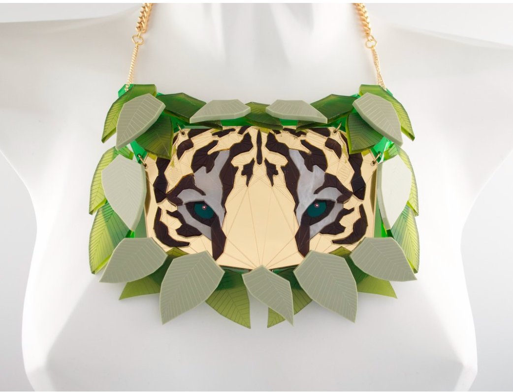 COMING SOON Tiger Necklace (Safari)  by Sstutter