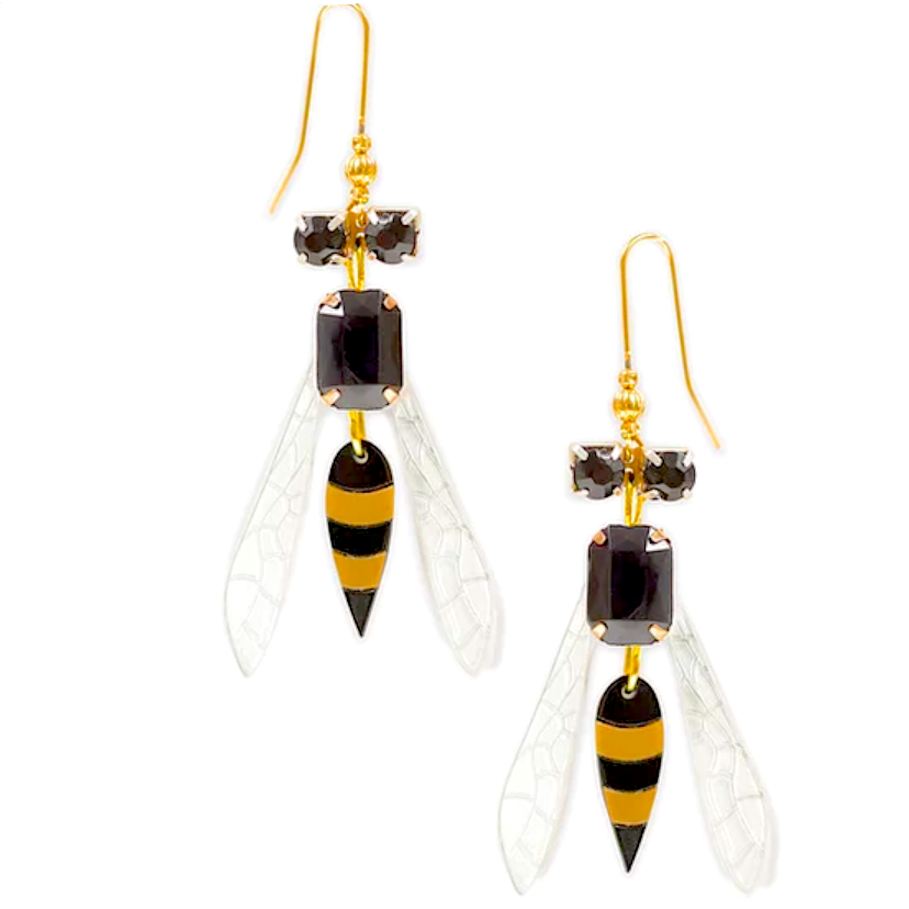 Wasp Earrings by LaliBlue