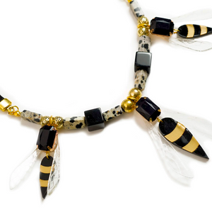 Wasps  Necklace by LaliBlue