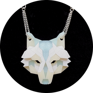Wolf Head Necklace (Bleach) by Sstutter