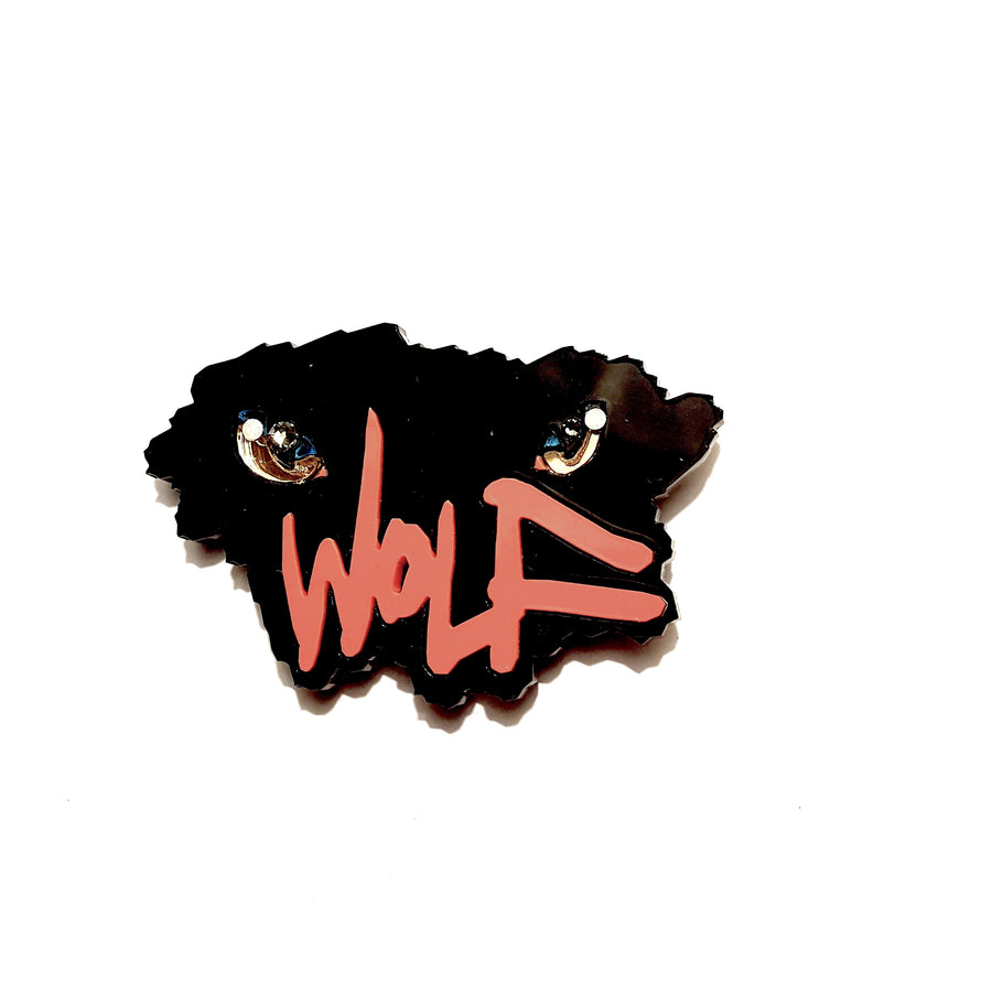 Wolf Eyes Brooch (Fright Night) by Sstutter