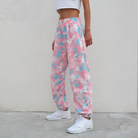 Bottom - Candy Camo Joggers