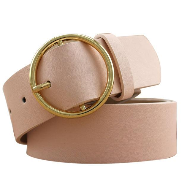 Gold Ring Belt - LUX NOIRE