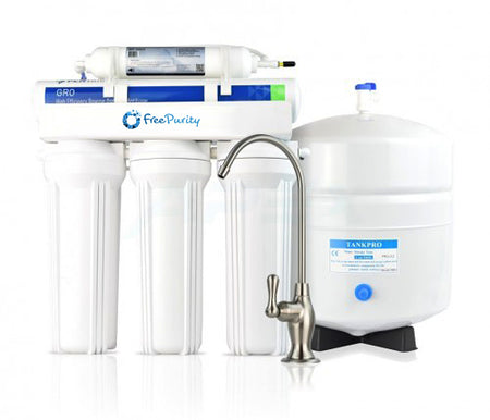 RO Super High Efficiency Undersink Water Purifier - The 1:1 Water Saver - Free Purity