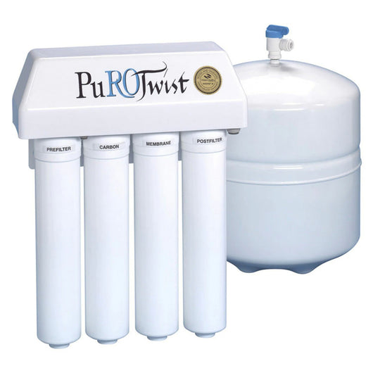 PuROTwist PT4000T36-50-Gold Stage Reverse Osmosis System - Free Purity