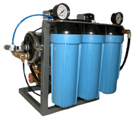 High Capacity Compact Commercial Reverse Osmosis System - Free Purity