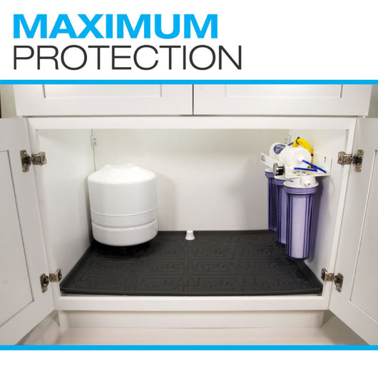 XTreme Mat - Under Sink Cabinet Protector - FreePurity.com