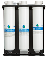 Floor Water Purification Tower - Compact - Hot/Cold Water Dispenser - FreePurity.com