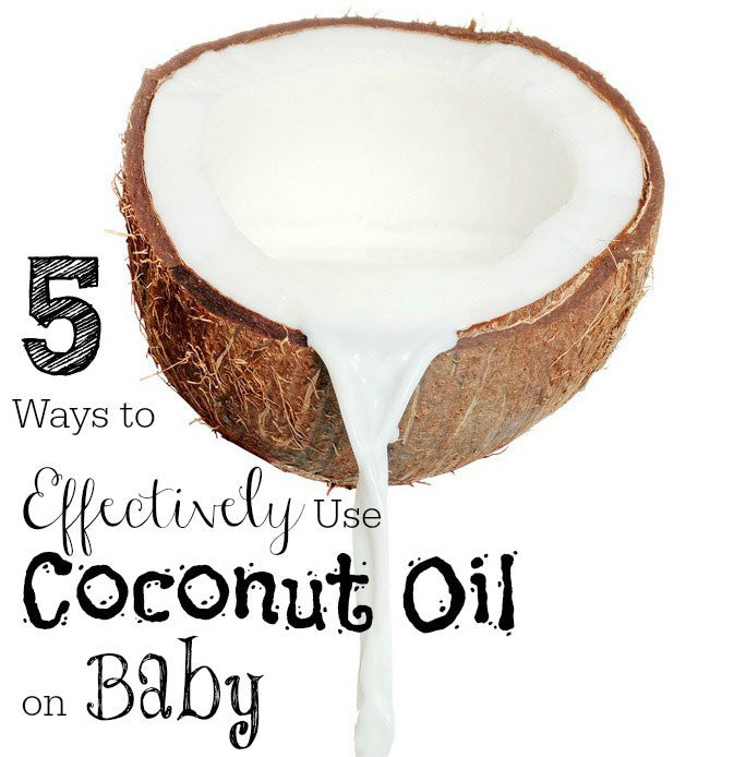 5 ways to use coconut oil on baby