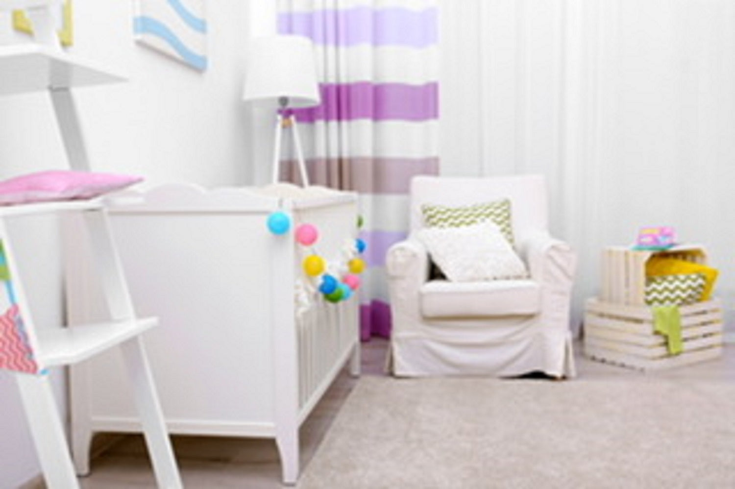 DIY PROJECTS TO GET NURSERY READY FOR BABY