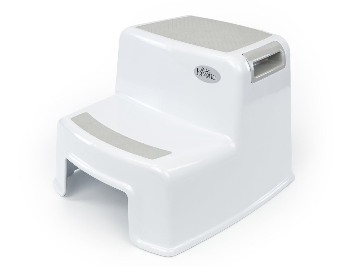 Toddler Dual Height Step Stool - Greige - Jessa Leona Baby  sc 1 st  Jessa Leona Baby : the potty stool - islam-shia.org