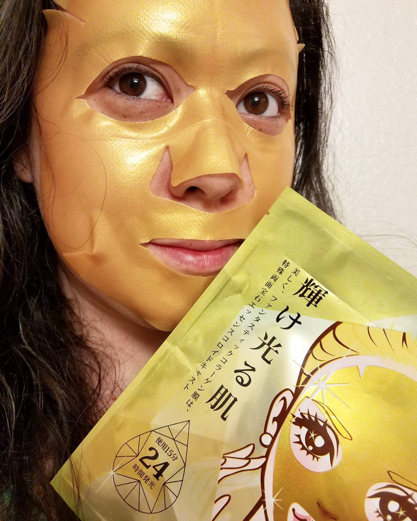 Sexylook Luminous Gem Series Gold Hyaluronic Acid Repairing Mask | My Styling Box