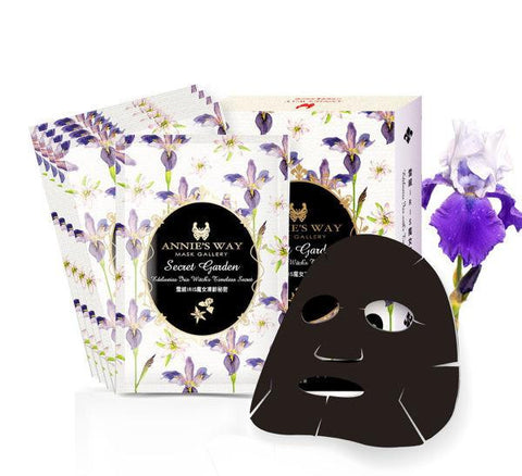 Annie's Way Secret Garden Edelweiss Iris Witch's Timeless Secret Mask
