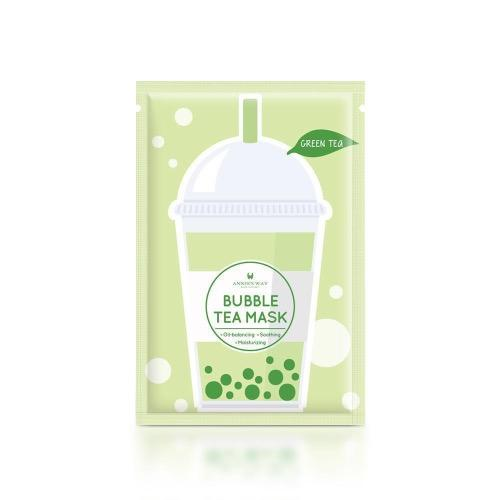 Annie's Way Bubble Tea Mask - Green Tea - 5PCS/BOX | Annie's Way | My Styling Box
