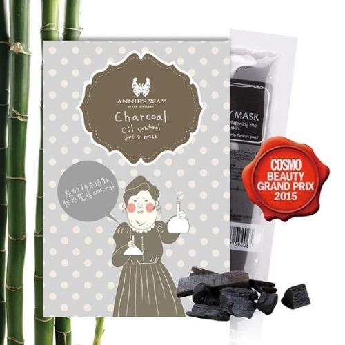 Annie's Way Charcoal + Vita-C Anti-Oil Jelly Mask 40ml | Annie's Way | My Styling Box