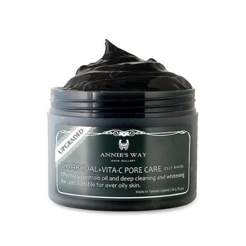 Annie's Way Charcoal + Vita-C Pore Care Jelly Mask 250ml | Annie's Way | My Styling Box
