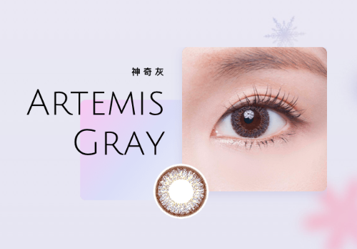 Deesse Monthly Disposable Color Contact Lens - Artemis Gray | Deesse | My Styling Box