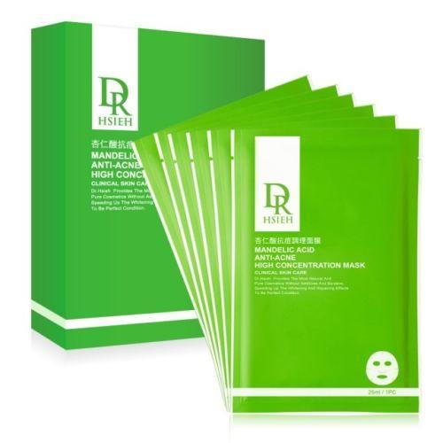 Dr. Hsieh Mandelic Acid Anti-Acne High Concentration Mask - 6 PCS/BOX-Dr. Hsieh | My Styling Box