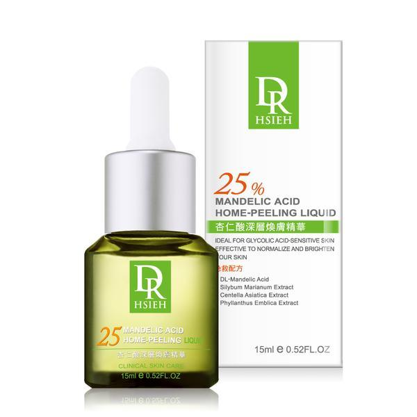 Dr. Hsieh Mandelic Acid Essence Home Peeling Liquid 25% 15ml-Dr. Hsieh | My Styling Box