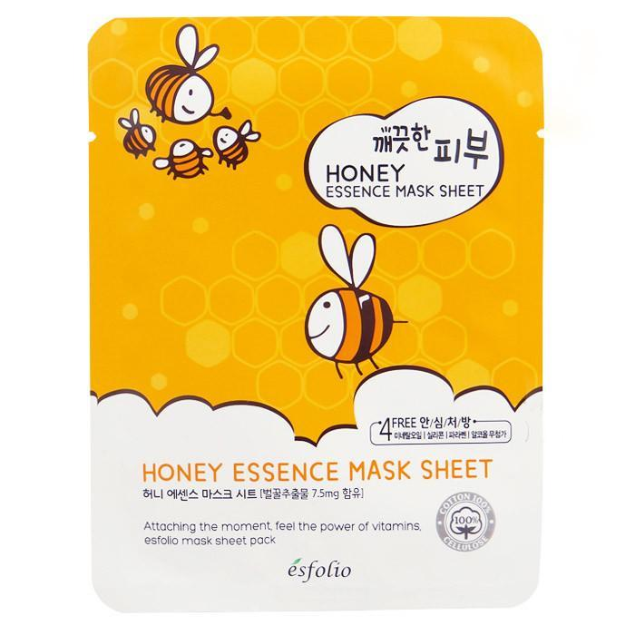 Esfolio Pure Skin Essence Mask Sheet - Honey | Esfolio | My Styling Box