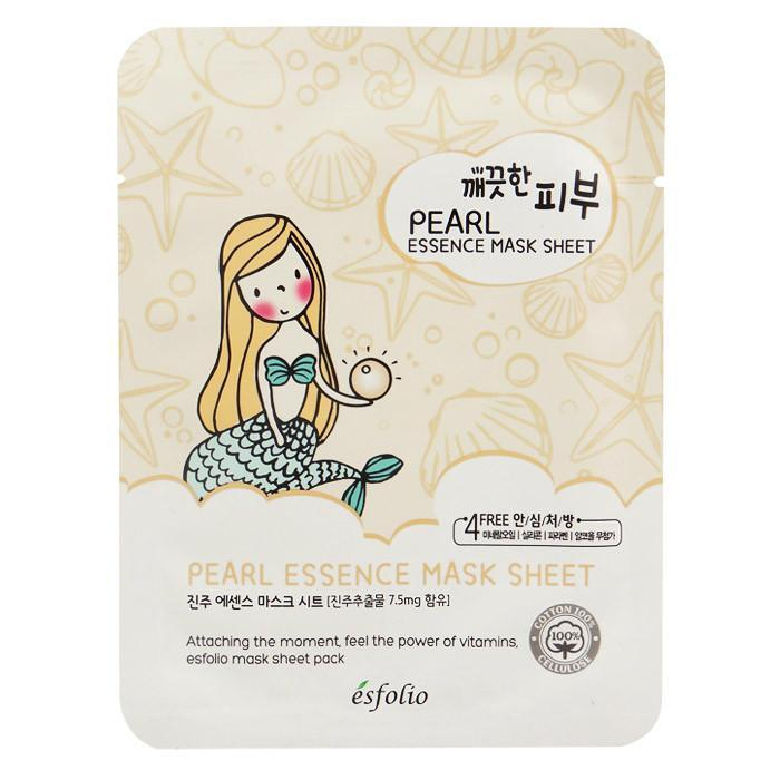 Esfolio Pure Skin Essence Mask Sheet - Pearl | Esfolio | My Styling Box