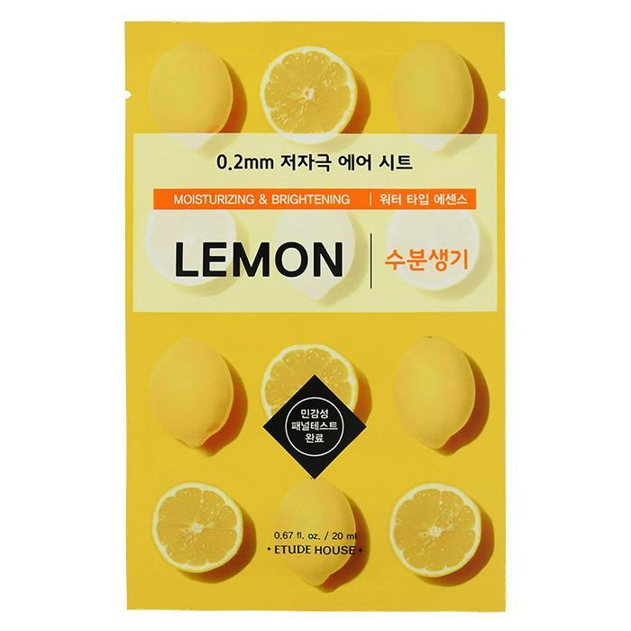 Etude House 0.2mm Mask - Lemon | Etude House | My Styling Box