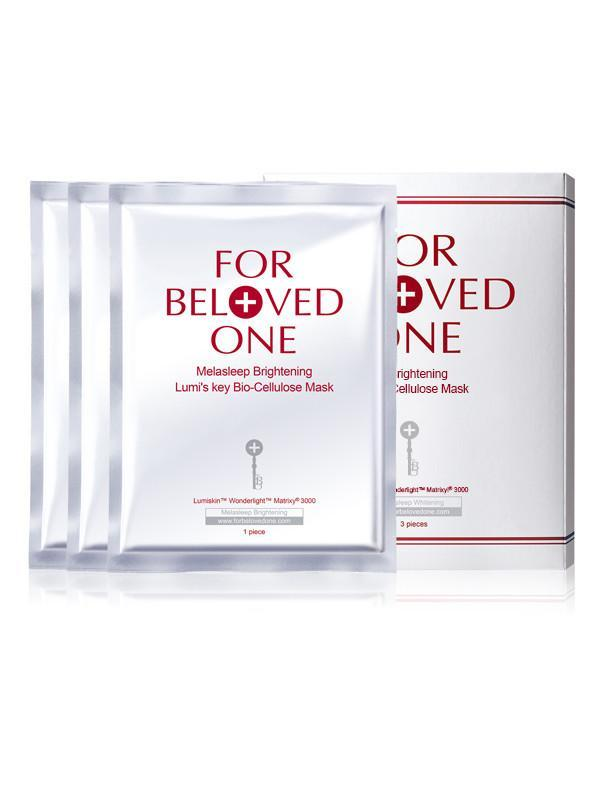 For Beloved One Melasleep Brightening Lumi's Key Series - Bio-Cellulose Mask | For Beloved One | My Styling Box
