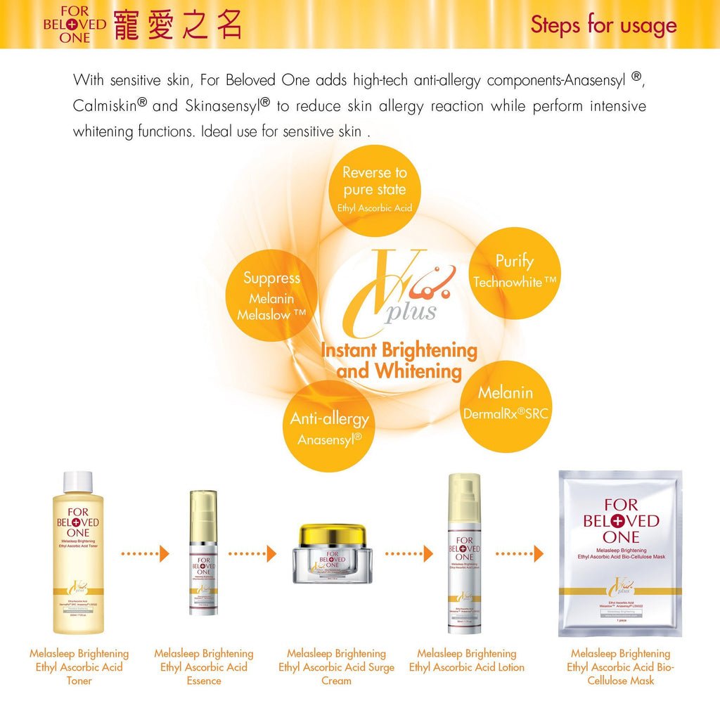 For Beloved One Melasleep Ethyl Ascorbic Acid Series - Essence | For Beloved One | My Styling Box