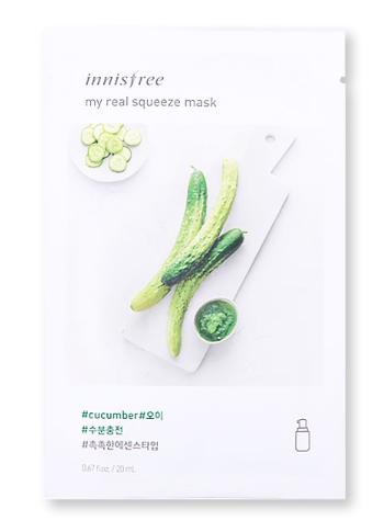 Innisfree It's Real Squeeze Mask - Aloe | Innisfree | My Styling Box