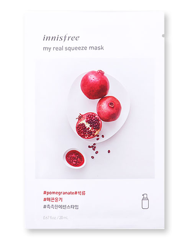 Innisfree It's Real Squeeze Mask - Pomegranate | Innisfree | My Styling Box
