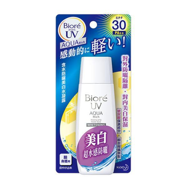 Kao Biore UV Aqua Rich Watery Jelly Water Base Whitening Sunscreen SPF30 PA++ | Kao Biore | My Styling Box