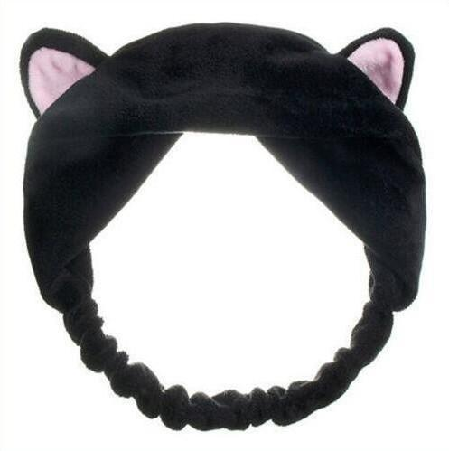 Kitty Cat Ear Headband Hair Band - Black | Kumi | My Styling Box