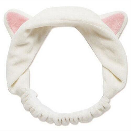 Kitty Cat Ear Headband Hair Band - White | Kumi | My Styling Box
