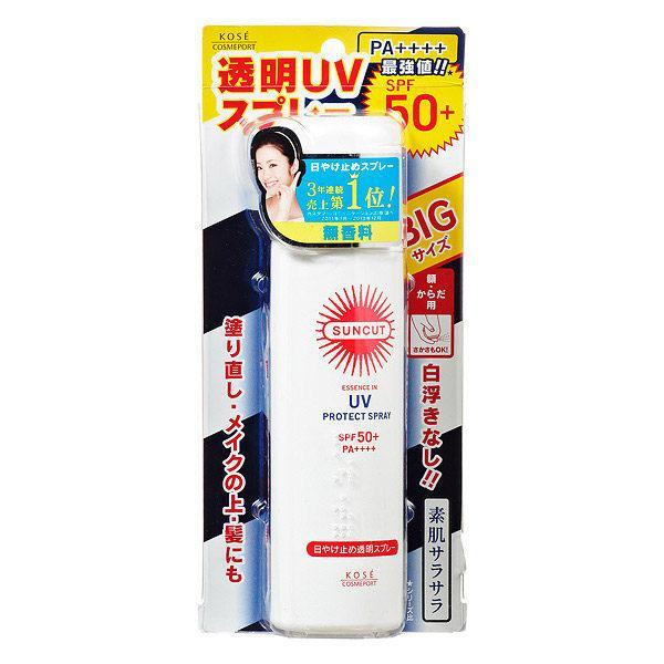 Kose Cosmeport Suncut Essence In UV Protect Spray SPF50+ PA++++-Kose Cosmeport | My Styling Box