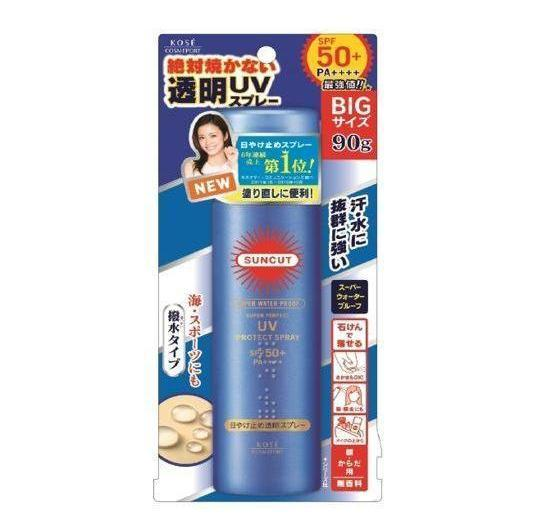 Kose Cosmeport Suncut Super Water Proof UV Protect Spray SPF50+ PA++++-Kose Cosmeport | My Styling Box