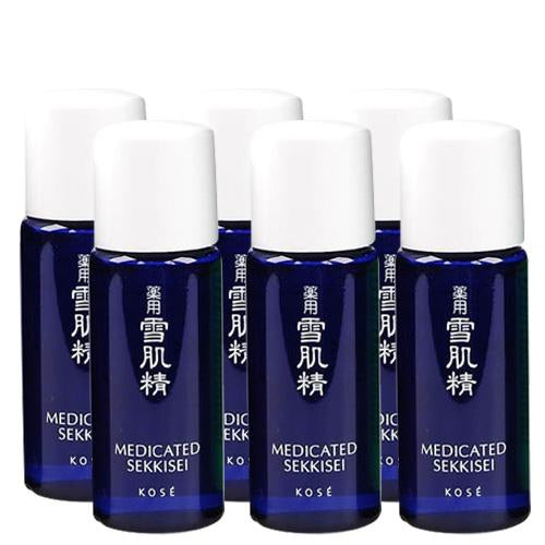 Kose Medicated Sekkisei Toner - 13ml x 6 Travel Size | Kose | My Styling Box