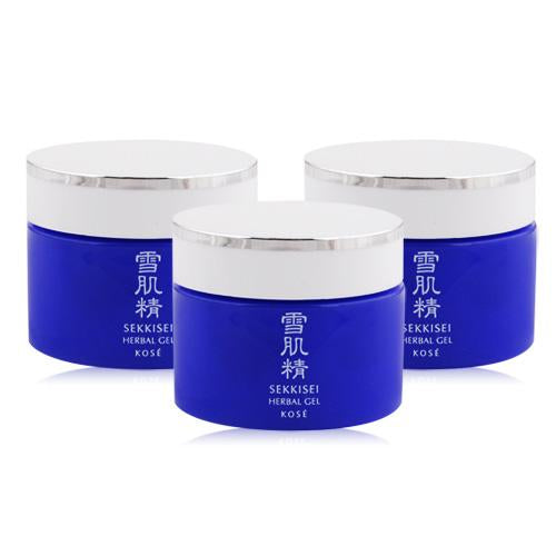 Kose Sekkisei Herbal Gel - 6g x 3 Travel Size | Kose | My Styling Box