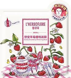 L'Herboflore Sweety Strawberry Whitening Mask | l'Herboflore | My Styling Box
