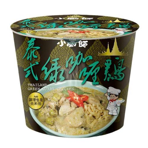 Little Cook Thailand Green Curry Instant Noodle Taiwan - Bowl | Little Cook | My Styling Box