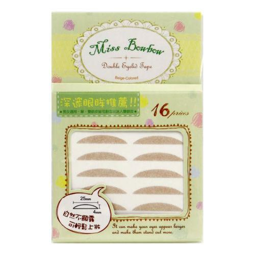 Miss Bowbow No.2 Deep Eyes 3M Beige Mesh Double Eyelid Tape - 32 PCS | My Styling Box