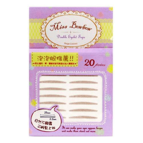 Miss Bowbow No.4 Puffy Eyes 3M Beige Mesh Double Eyelid Tape - 40 PCS | Miss Bowbow | My Styling Box