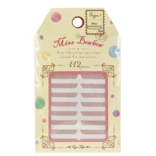Miss Bowbow Type 1 Invisible Eyelid 3M Tape Widen Eyes - 112 PCS | Miss Bowbow | My Styling Box