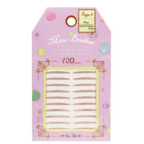 Miss Bowbow Type 4 Invisible Eyelid 3M Tape Puffy Eyes - 120 PCS | Miss Bowbow | My Styling Box