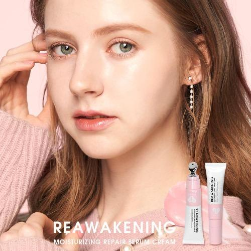 MKUP Reawakening Moisturizing Lip and Under Eye Repair Serum Cream | MKUP | My Styling Box