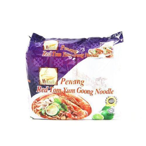 MyKuali Penang Red Tom Yum Goong Noodle Malaysia - 4 Packs/Bag | MyKuali | My Styling Box