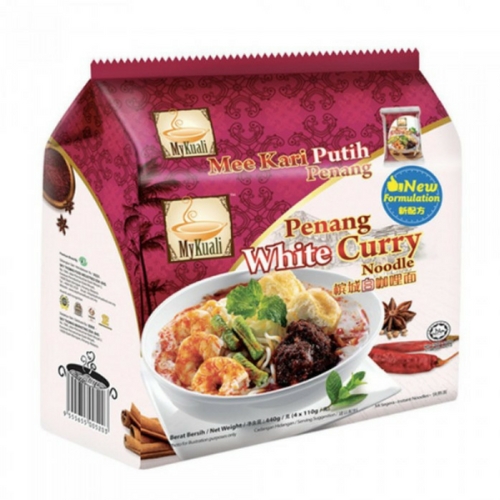 MyKuali Penang White Curry Noodle Malaysia - 4 Packs/Bag | MyKuali | My Styling Box